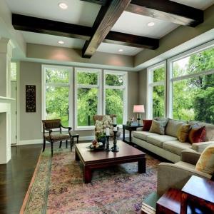 Integrity Casement Windows Living Room